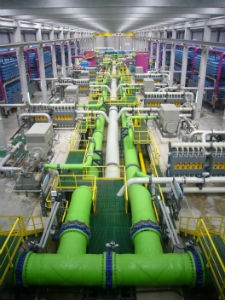 saltwater desalination plant